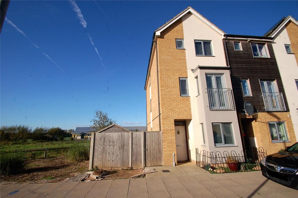 4 Bedrooms End Of Terrace House for sale in Nokoto Drive, Stockmoor Village, North Petherton, Somerset, TA6