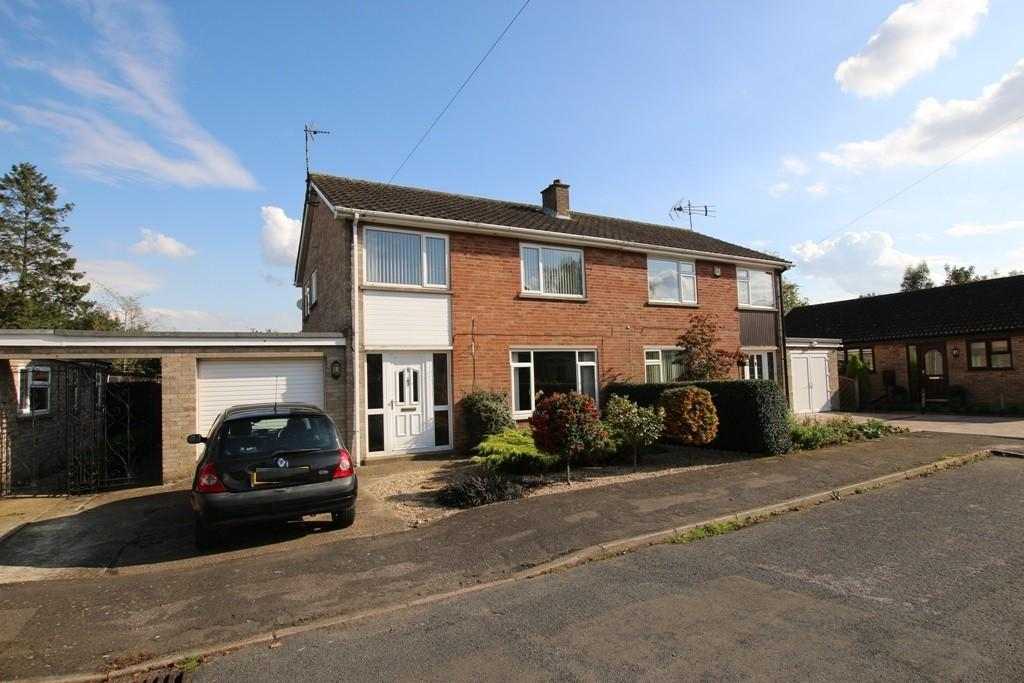 3 Bedrooms Semi Detached House for sale in Crauden Gardens, Ely