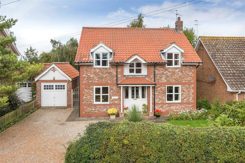 3 Bedrooms Detached House for sale in Main Street, Thorganby, York, YO19