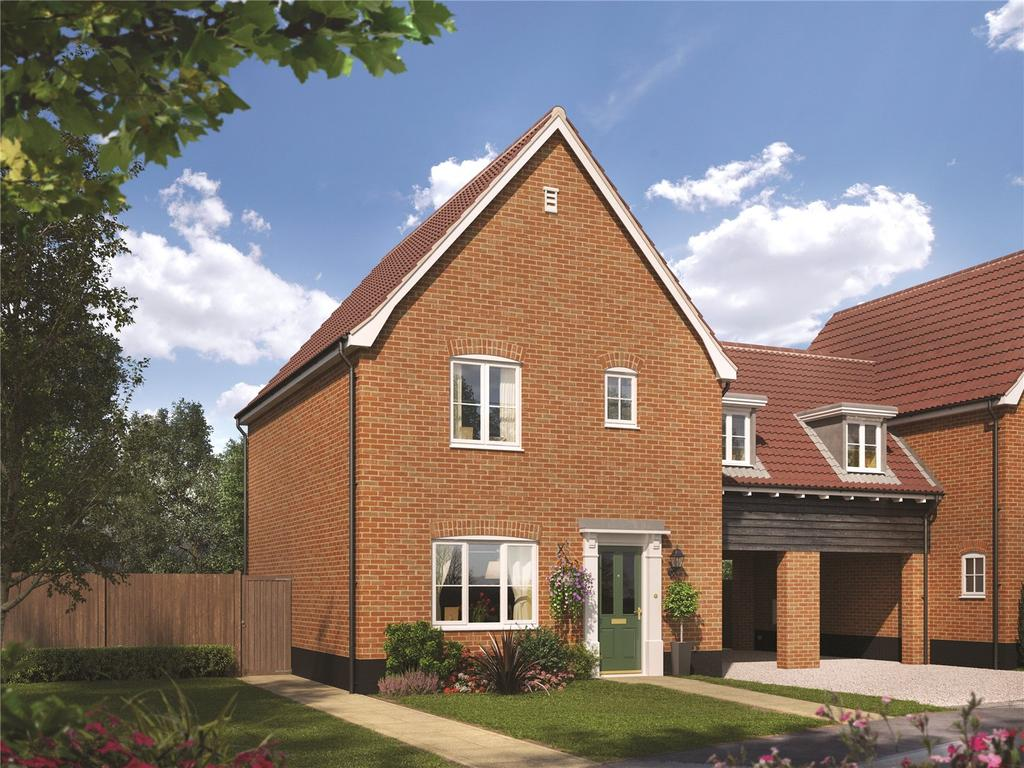 3 Bedrooms Detached House for sale in Plot 31, The Spindle, Ashe Road, Tunstall, Woodbridge, IP12