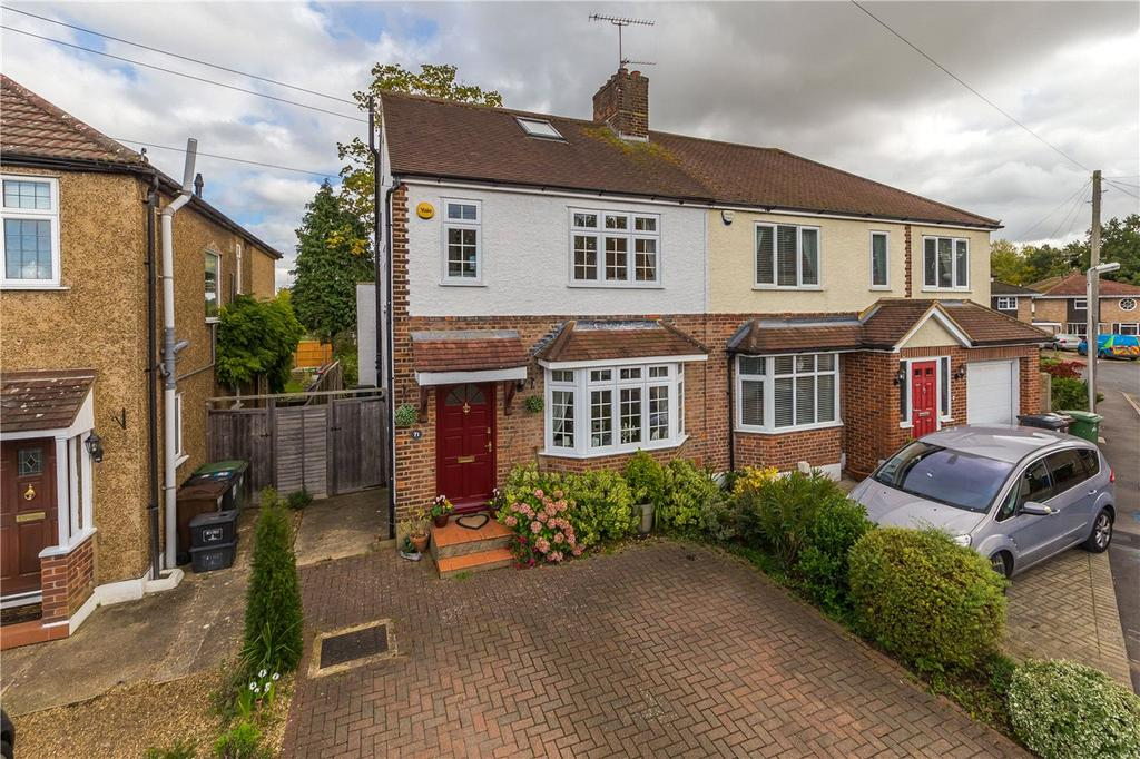 4 Bedrooms Semi Detached House for sale in Linden Crescent, St. Albans, Hertfordshire