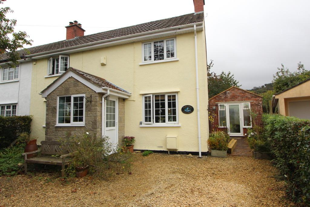 3 Bedrooms Semi Detached House for sale in Semi-detached home in Ubley