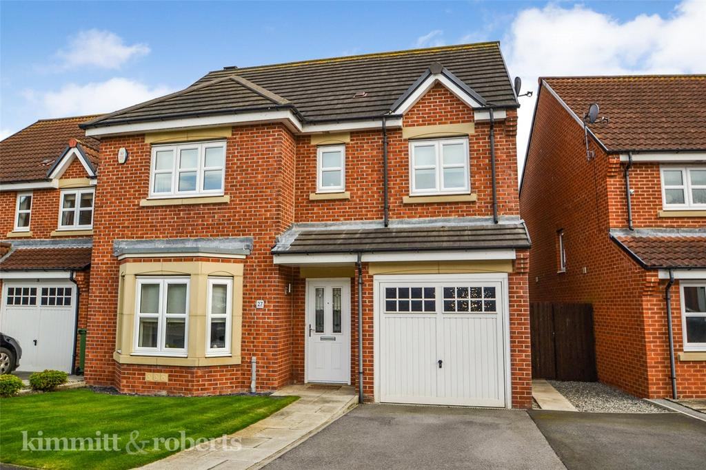 4 Bedrooms Detached House for sale in Brackenridge, Shotton, Co Durham, DH6