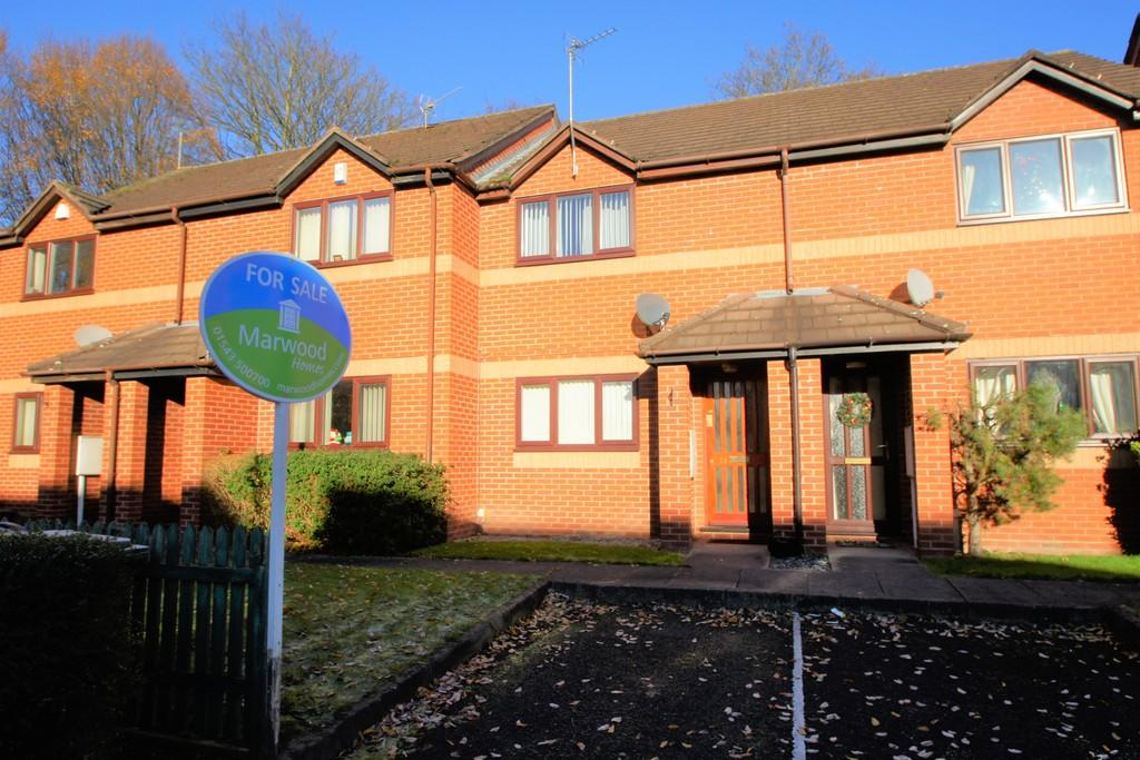 2 Bedrooms Terraced House for sale in Woottons Court, Cannock