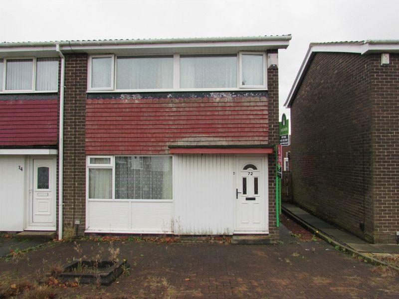 3 Bedrooms House for sale in Broomfield Avenue, Wallsend - Three Bedroom, End Of Terrace
