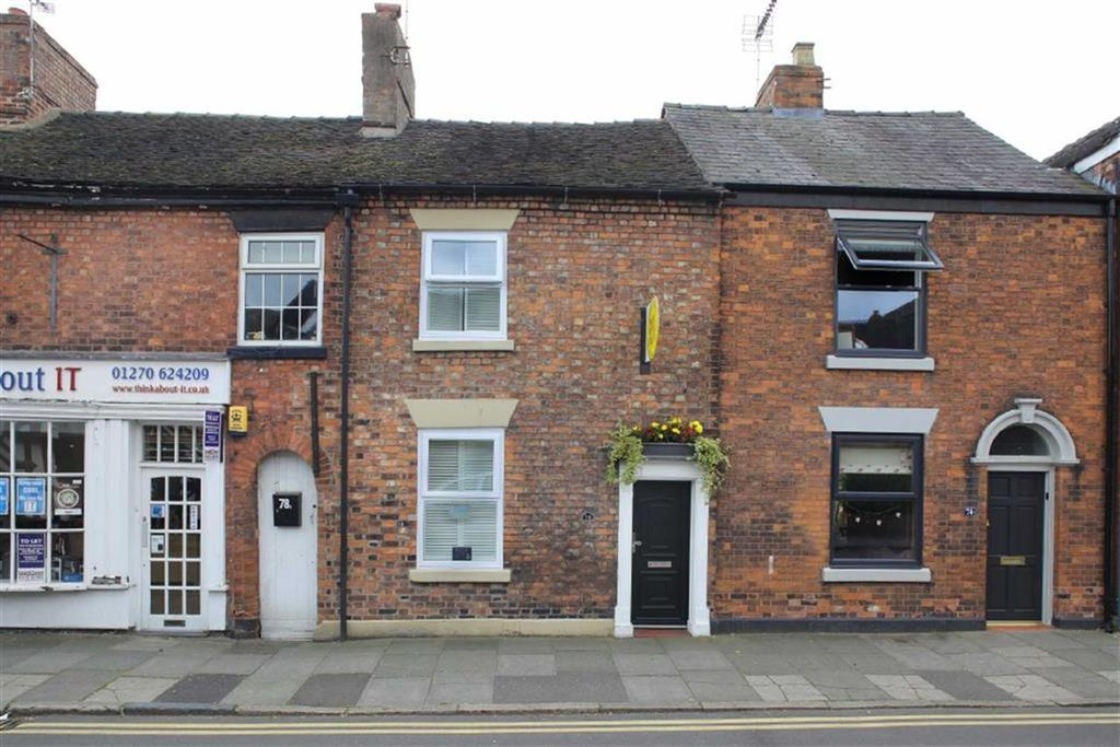 2 Bedrooms Terraced House for sale in Hospital Street, Nantwich, Cheshire