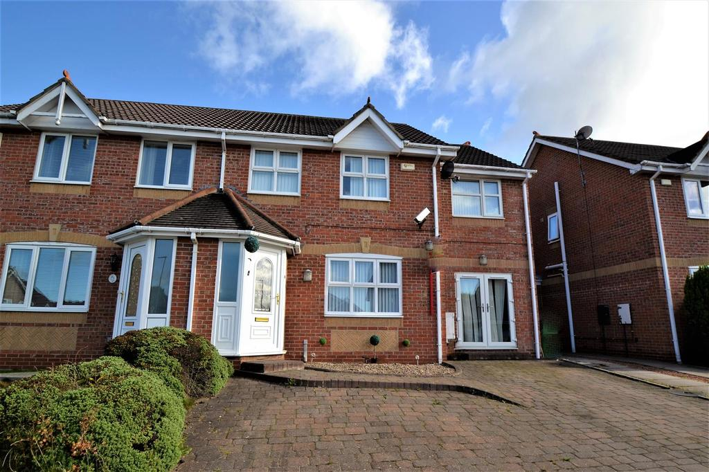 3 Bedrooms Semi Detached House for sale in Hillside Court, Spennymoor