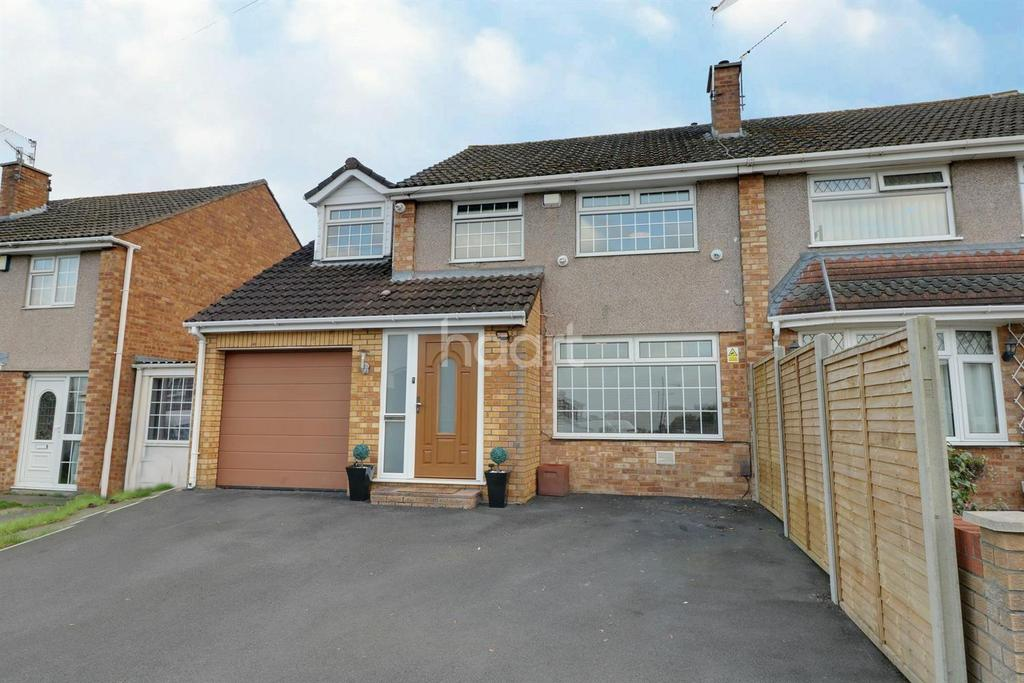 4 Bedrooms Semi Detached House for sale in Court Farm Road, Whitchurch, Bristol