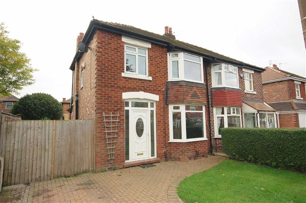 3 Bedrooms Semi Detached House for sale in Aber Road, Cheadle, Cheshire, SK8