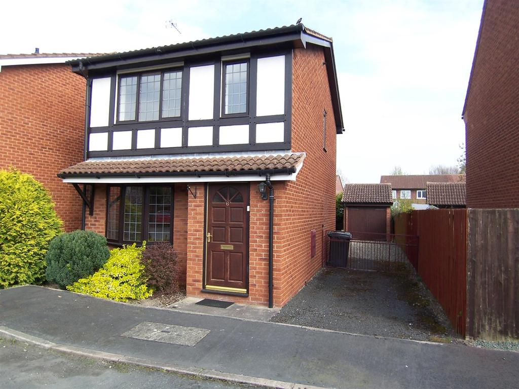 3 Bedrooms Detached House for sale in 6 Lingen Close, Shrewsbury, SY1 2UN