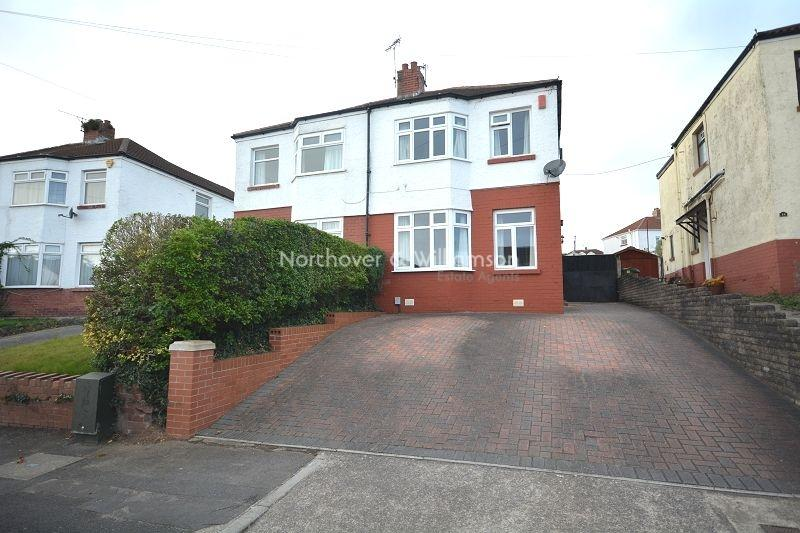 2 Bedrooms Semi Detached House for sale in Brachdy Lane, Rumney, Cardiff. CF3