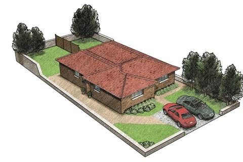 2 bedroom semi-detached bungalow for sale - NEW BUILD BUNGALOWS WITH 10 YEAR BUILDING WARRANTY