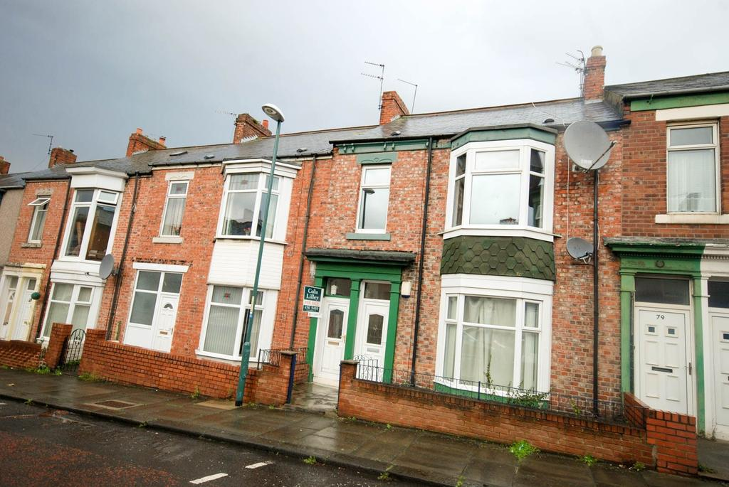 3 Bedrooms Flat for sale in Northcote Street, South Shields