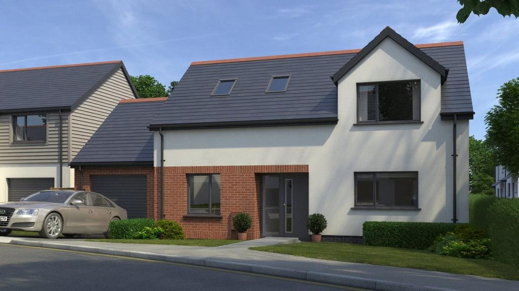 4 Bedrooms Detached House for sale in Penrose View, School Hill, Shortlanesend, Truro