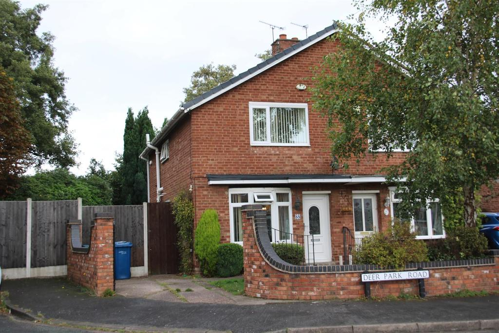 3 Bedrooms Semi Detached House for sale in Deer Park Road, Fazeley, Tamworth