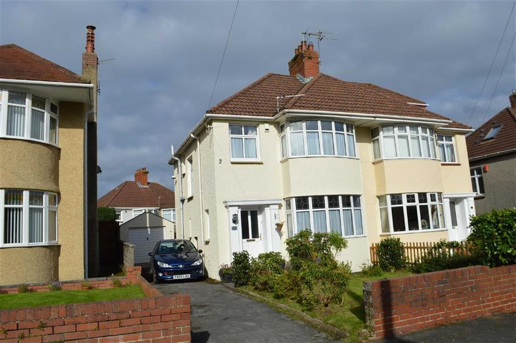 3 Bedrooms Semi Detached House for sale in Dunraven Road, Swansea, SA2