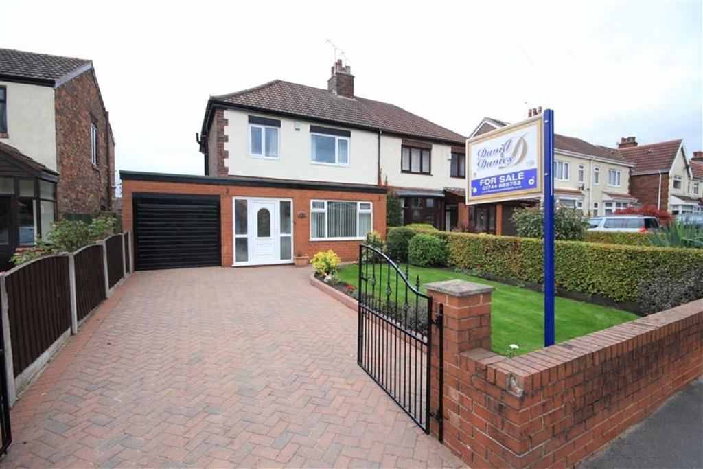 3 Bedrooms Semi Detached House for sale in Cross Pit Lane, Rainford, St Helens, WA11