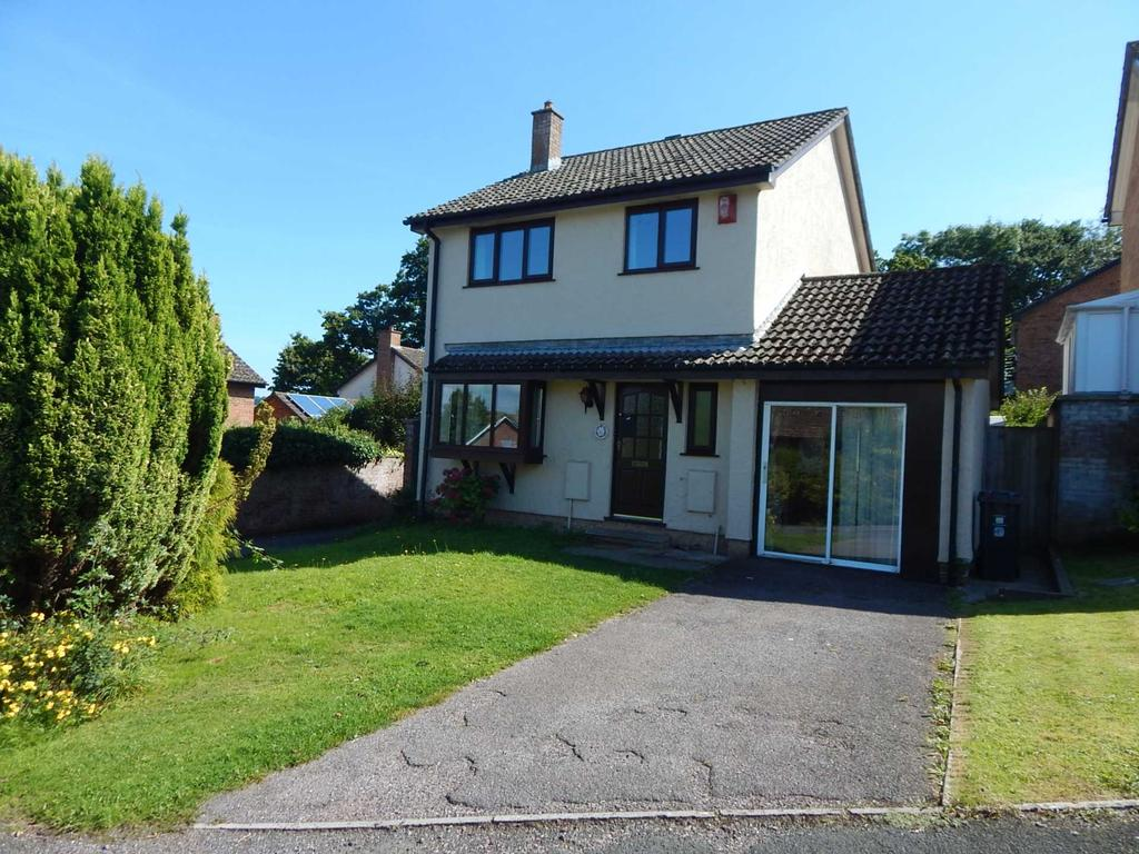 3 Bedrooms Detached House for sale in Newbery Close, Colyton, Devon