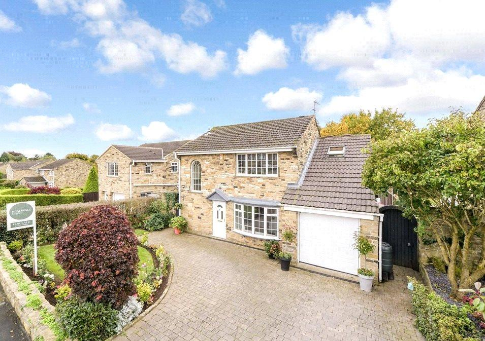 4 Bedrooms Detached House for sale in Ullswater Drive, Wetherby, West Yorkshire