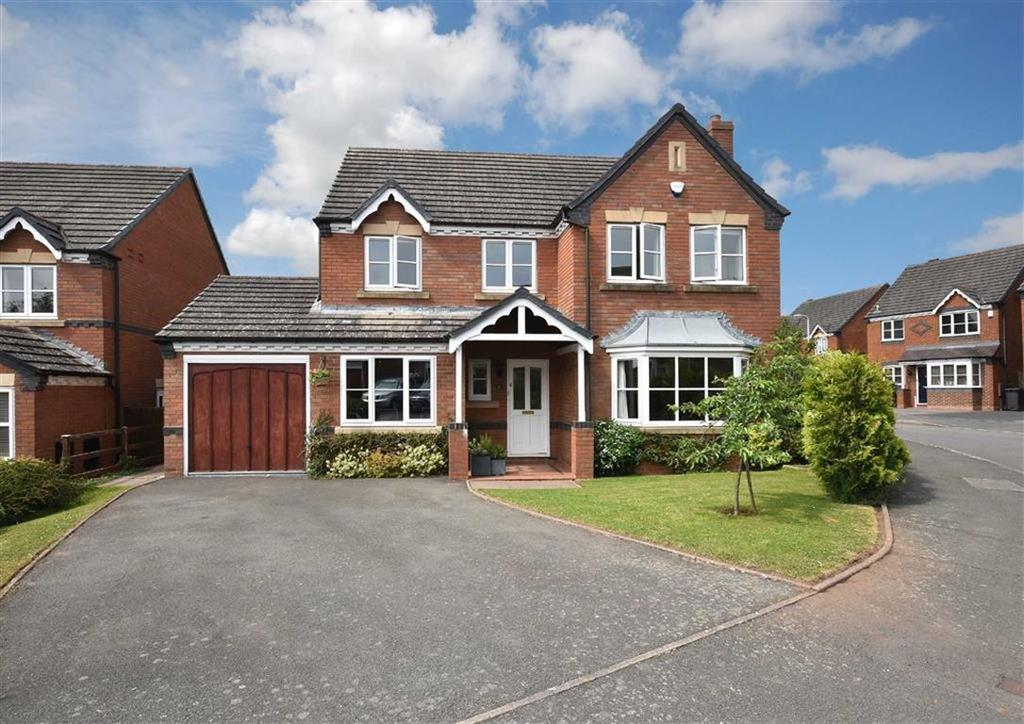 5 Bedrooms Detached House for sale in 17, Harley Way, High Town, Bridgnorth, Shropshire, WV16