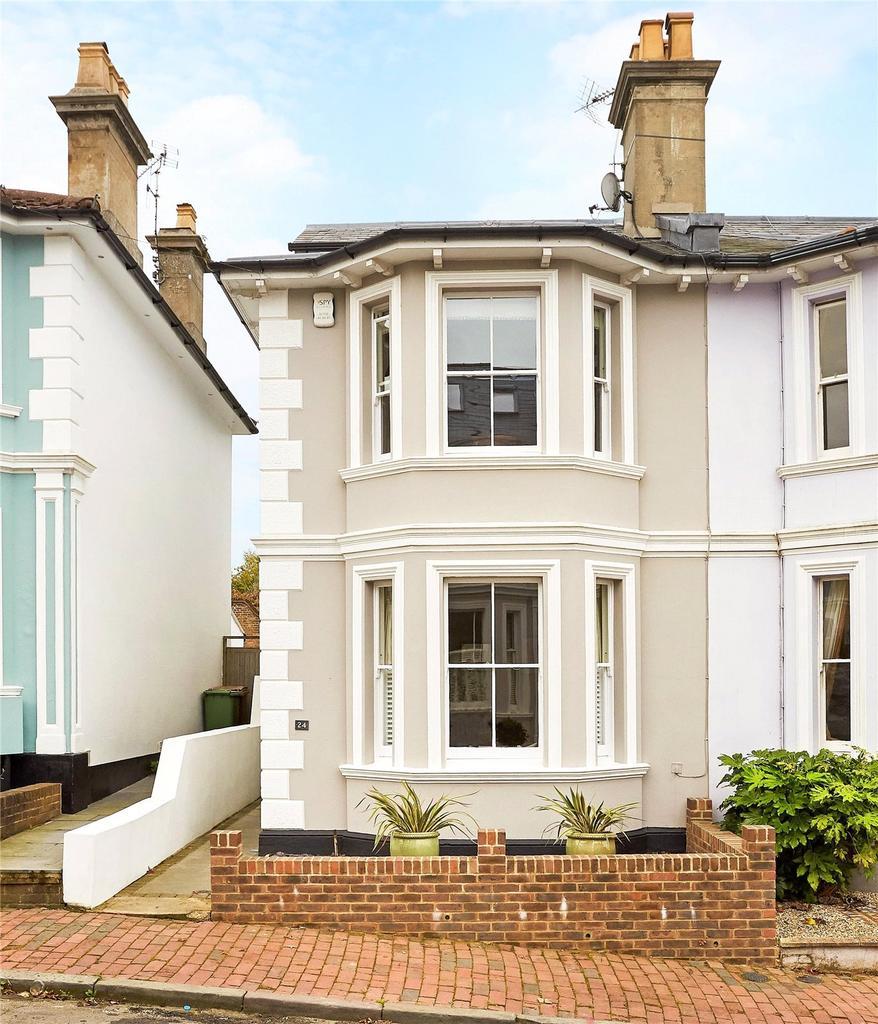 4 Bedrooms Semi Detached House for sale in Cambridge Street, Tunbridge Wells, Kent, TN2
