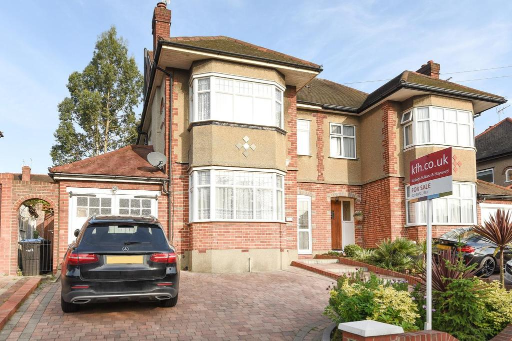 4 Bedrooms Semi Detached House for sale in Lakenheath, Southgate