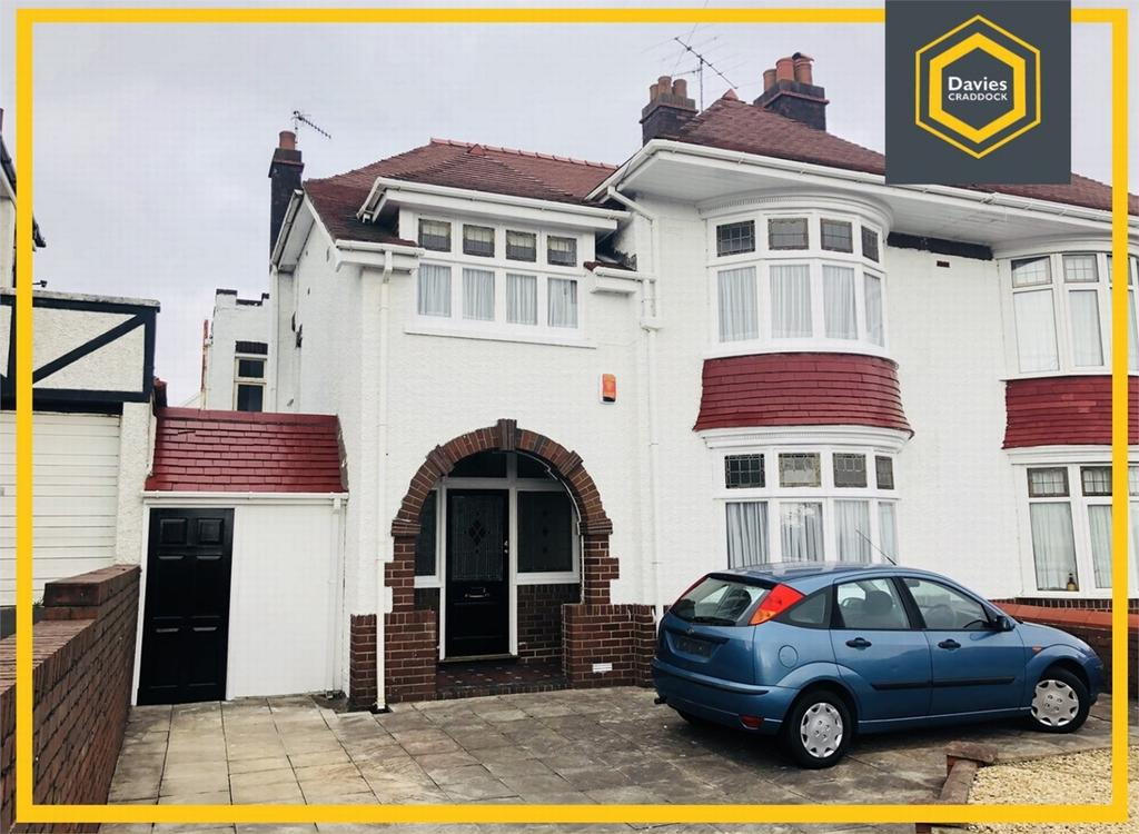 4 Bedrooms Semi Detached House for sale in 4 Spowart Avenue, Llanelli, Carmarthenshire