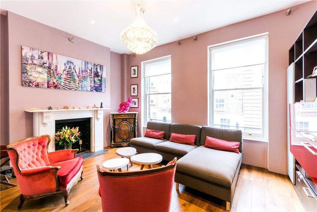 4 Bedrooms Terraced House for sale in Nottingham Place, Marylebone, London, W1U