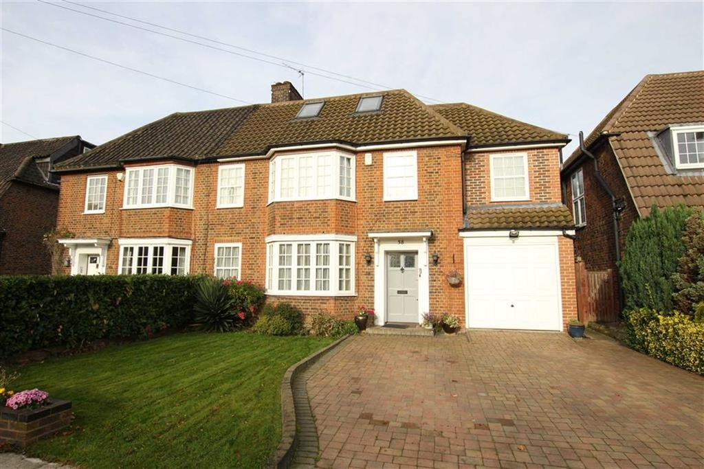 5 Bedrooms Semi Detached House for sale in Southway, Totteridge