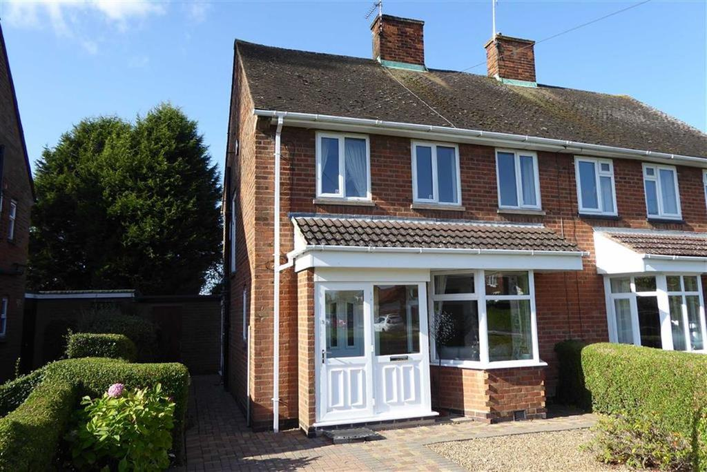 3 Bedrooms Semi Detached House for sale in Lane Close, Glenfield