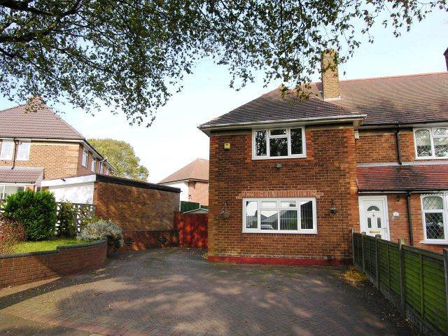 3 Bedrooms End Of Terrace House for sale in Hartley Road,Kingstanding,Birmingham