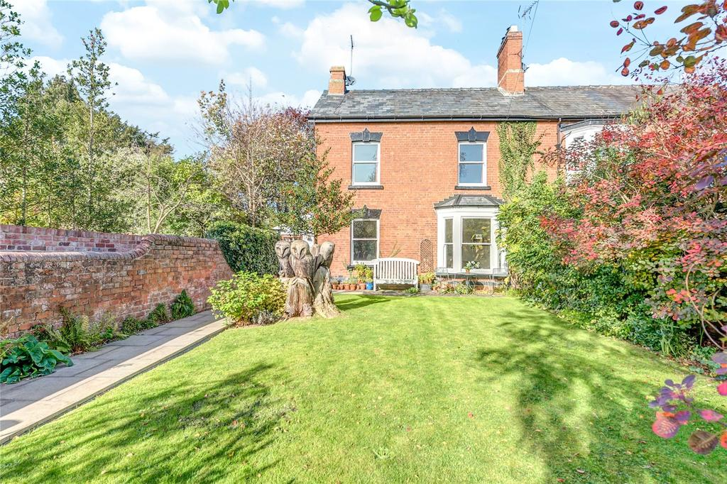 4 Bedrooms Semi Detached House for sale in Julian Road, Ludlow, Shropshire