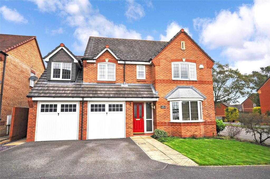 5 Bedrooms Detached House for sale in Horseguards Way, Melton Mowbray, Leicestershire