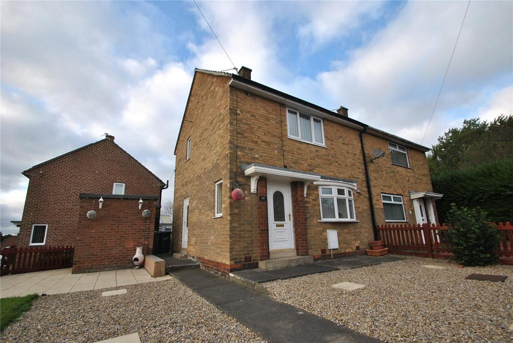 2 Bedrooms Semi Detached House for sale in Brinkburn Crescent, Houghton le Spring, Tyne and Wear, DH4