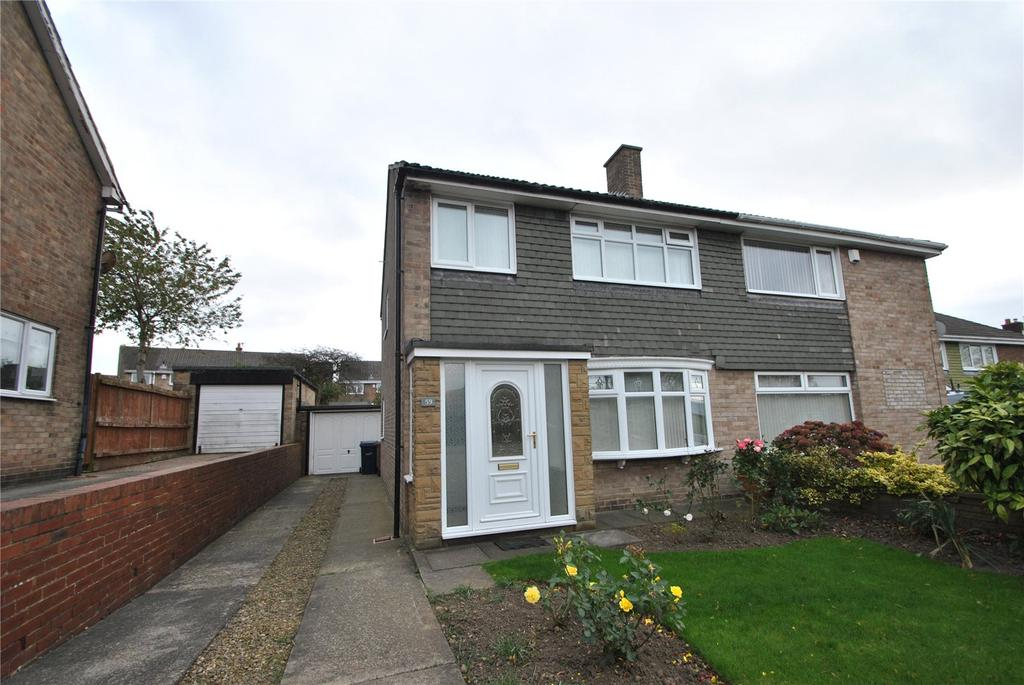 3 Bedrooms Semi Detached House for sale in Leeholme, Houghton le Spring, Tyne and Wear, DH5
