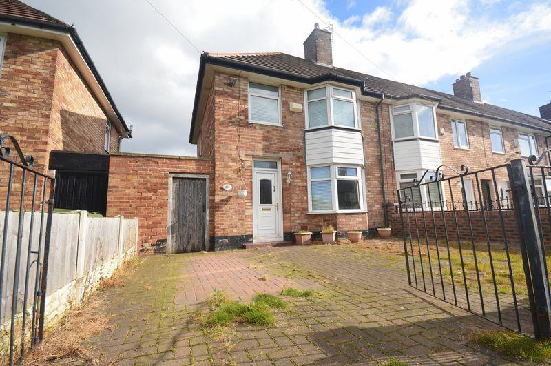 3 Bedrooms End Of Terrace House for sale in All Saints Road, Speke