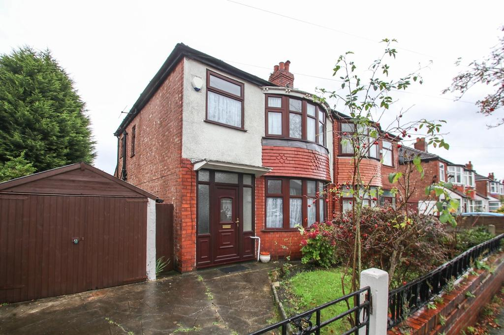 3 Bedrooms Semi Detached House for sale in Royston Road, Firswood, Manchester, M16