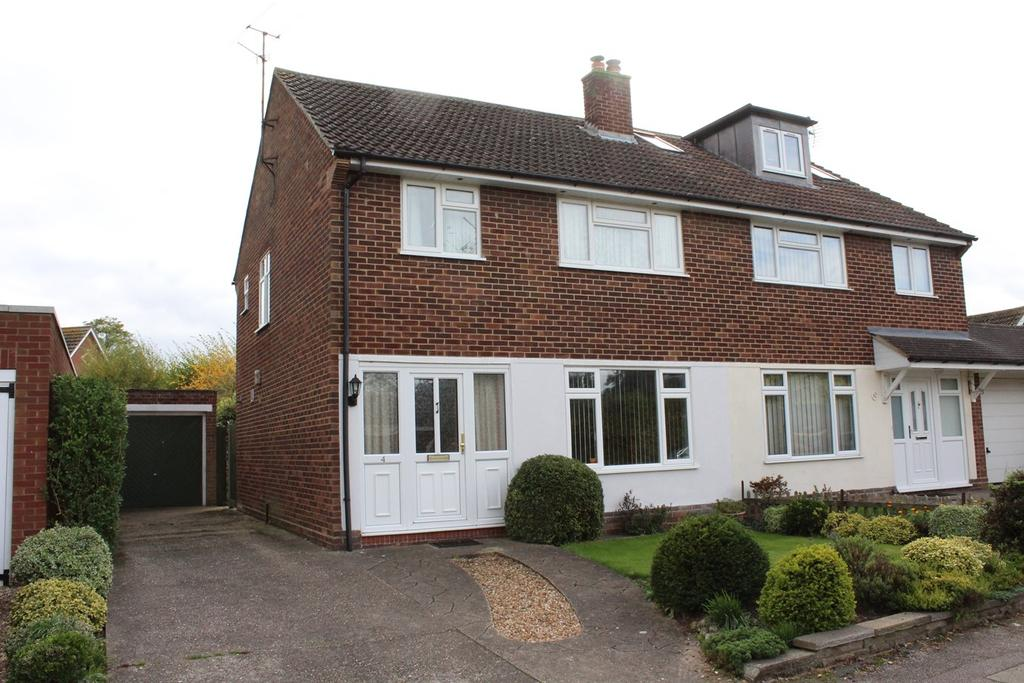 3 Bedrooms Semi Detached House for sale in Home Close, Stotfold, Hitchin, SG5