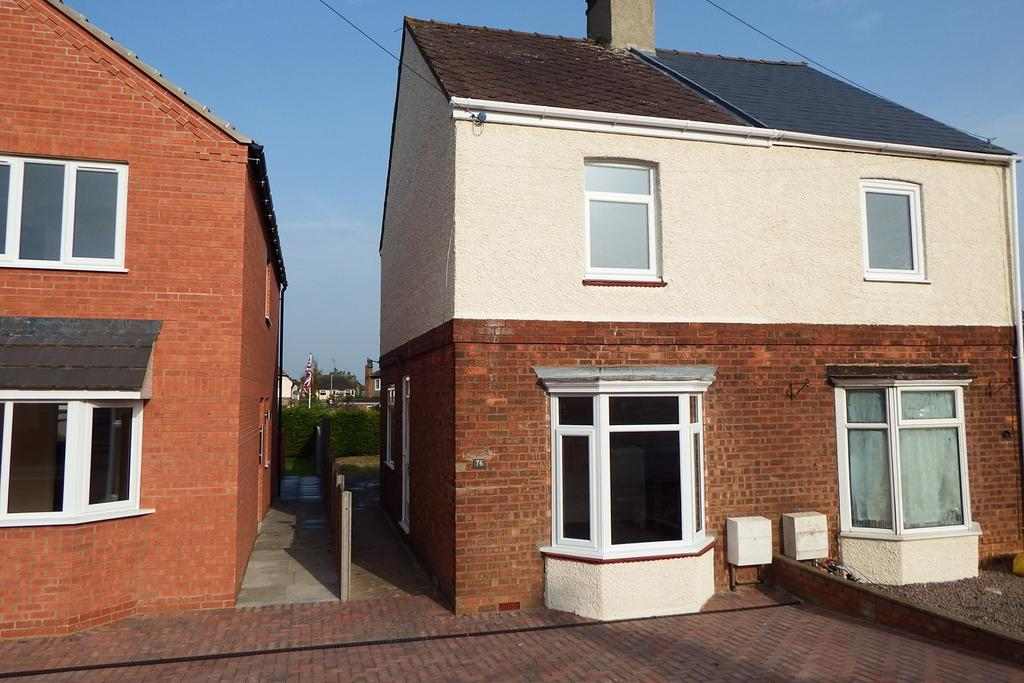 3 Bedrooms Semi Detached House for sale in Bourne Road, Spalding, PE11