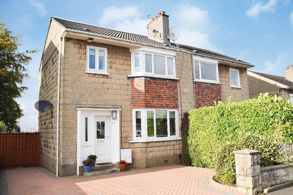 3 Bedrooms Semi Detached House for sale in Lochinver Drive , Cathcart , Glasgow , G44 3NL