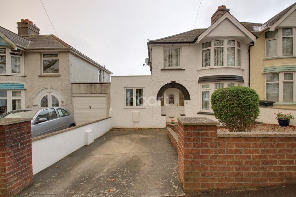 4 Bedrooms Semi Detached House for sale in Danvers Road, Torquay