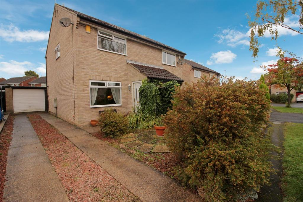 2 Bedrooms Semi Detached House for sale in Pinewood Close, Kingston Park, Newcastle Upon Tyne