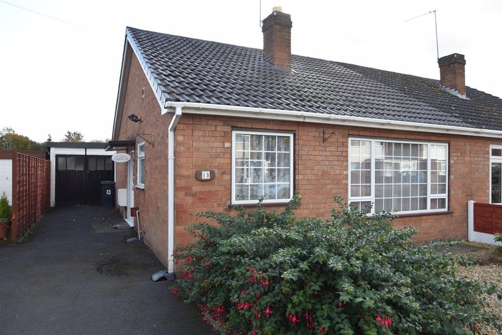 2 Bedrooms Semi Detached Bungalow for sale in 13 Leamore Crescent, Shrewsbury, SY3 7QB