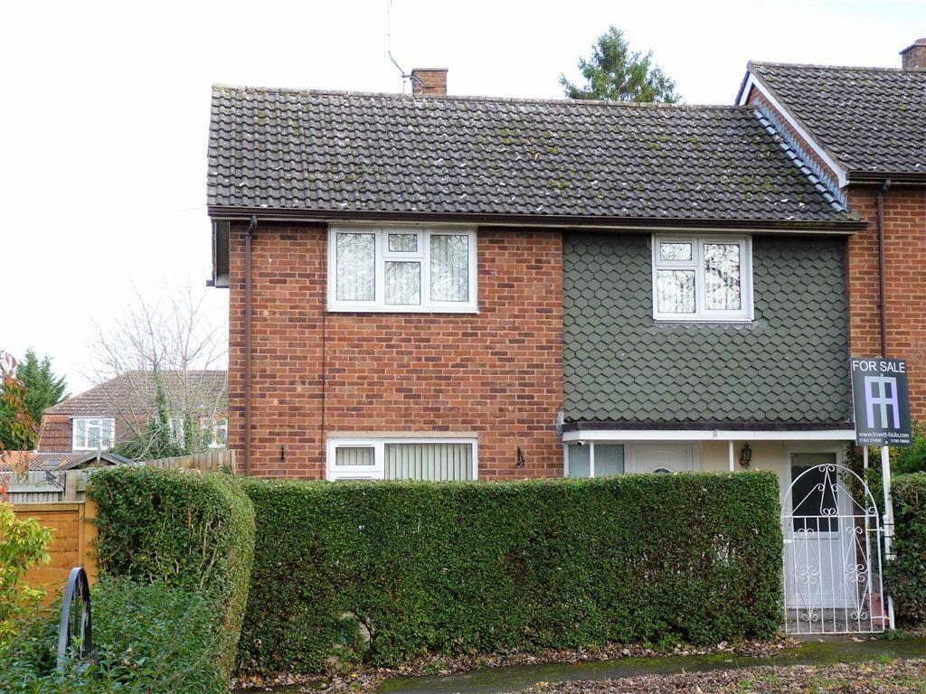 3 Bedrooms End Of Terrace House for sale in Weobley Close, Hereford