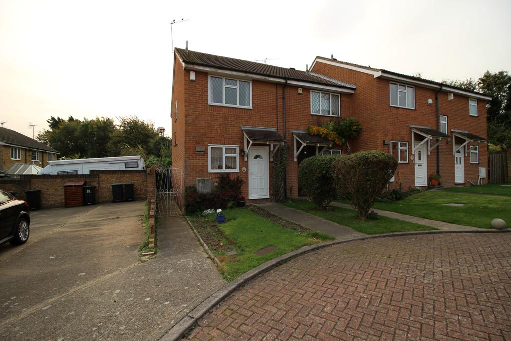 2 Bedrooms End Of Terrace House for sale in Lisle Close, Chalk DA12