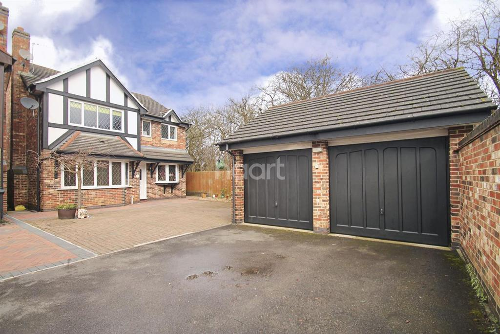 5 Bedrooms Detached House for sale in COTTESBROOKE GARDENS,NORTHAMPTON