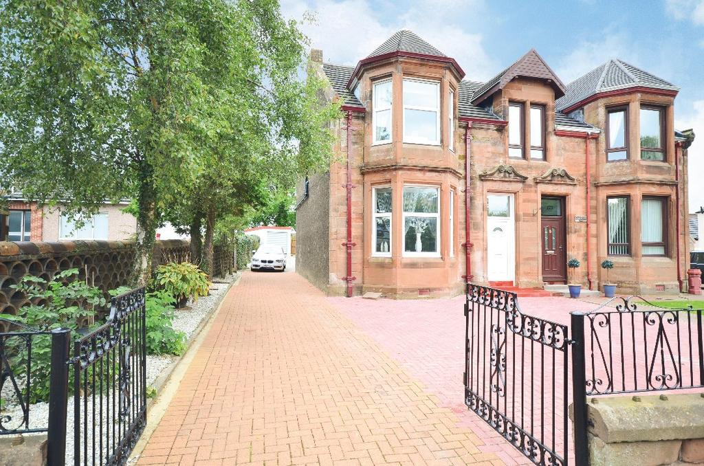 3 Bedrooms Semi Detached House for sale in Bonkle Road, Newmains, Wishaw, North Lanarkshire, ML2 9AL