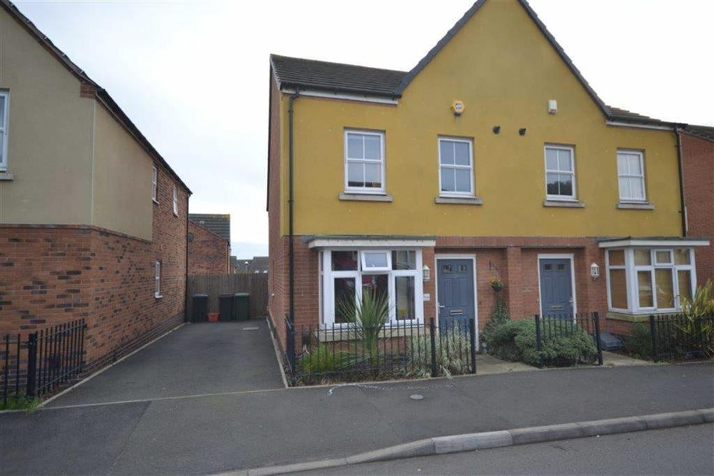 3 Bedrooms Semi Detached House for sale in Edinburgh Road, Camp Hill, Nuneaton
