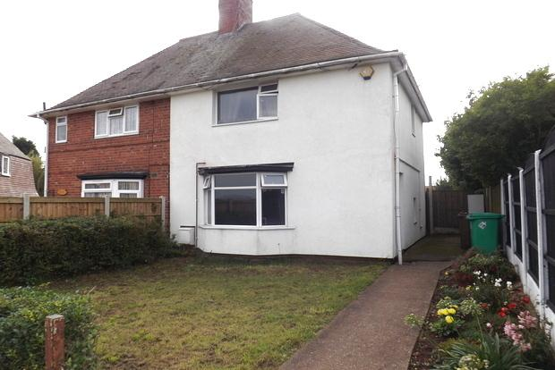 3 Bedrooms Semi Detached House for sale in Welstead Avenue, Aspley, Nottingham, NG8