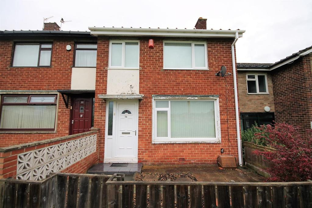 2 Bedrooms End Of Terrace House for sale in Kininvie Walk, Stockton-On-Tees